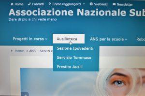 Immagine ingrandimento a schermo intero