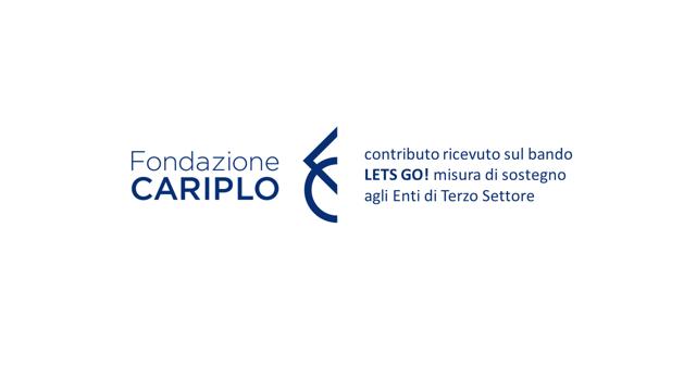Logo Fondazione Cariplo Bando LETS GO!